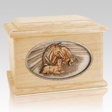 Daddys Love Maple Memory Chest Cremation Urn