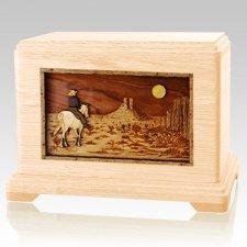 Horse Moon Maple Hampton Cremation Urn