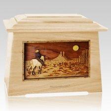 Horse Moon Maple Aristocrat Cremation Urn