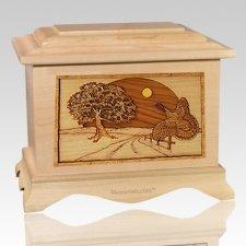 Turkey Maple Cremation Urn