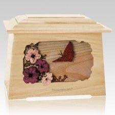 Butterfly Maple Aristocrat Cremation Urn