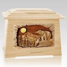 Country Haven Maple Aristocrat Cremation Urn