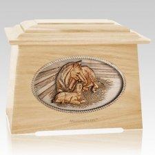Daddys Love Maple Aristocrat Cremation Urn