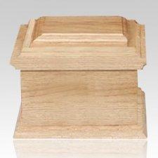 Glenwood Wood Cremation Urn
