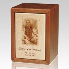Ultimate Wood Cremation Urn