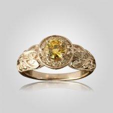 Yellow Cremation Diamond X