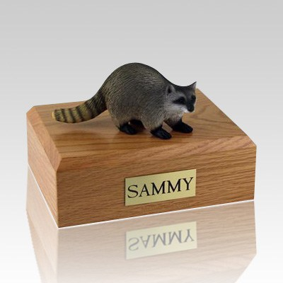 Raccoon Cremation Urns