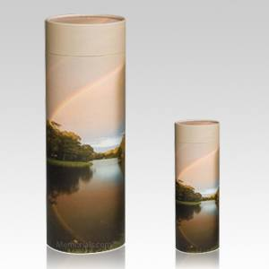 Rainbow Scattering Biodegradable Urns