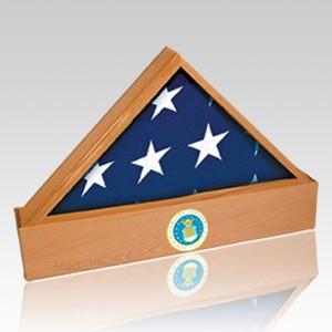Jefferson Oak Flag Case & Urn