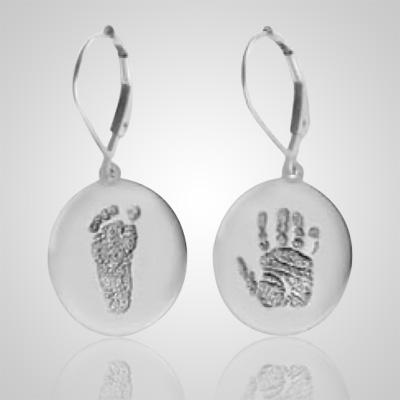 Ear Rings Print Sterling Silver Keepsakes