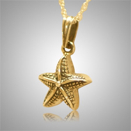 Star Fish Pet Cremation Keepsake IV