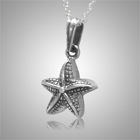 Star Fish Pet Cremation Keepsake