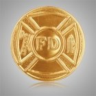 Firefighter Medallion Appliques