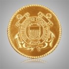 Coast Guard Seal Medallion Appliques
