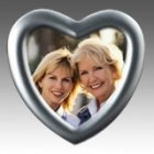 Heart Silver Picture Frame