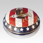 Patriot Cloisonne Jewel Dish