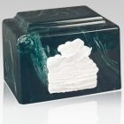 Amity Sunset Marble Cremation Urn