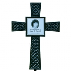 Black Photo Celtic Memorial Cross