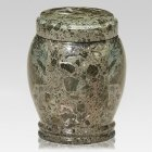 Classic Green Marble Pet Urn