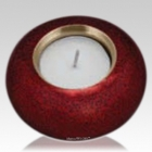 Crimson Candle Keepsake Urn