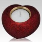 Crimson Heart Candle Keepsake Urn