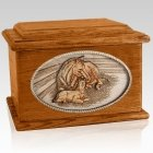 Daddys Love Mahogany Memory Chest Cremation Urn