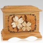 Dogwood Oak Cremation Urn