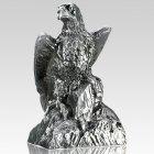 Eagle Pewter Keepsake Cremation Urn