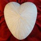 Ethereal Ceramic Heart Urn