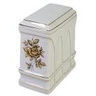 Gold Rose Ceramic Cremation Urn