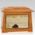 Grand Tetons Mahogany Aristocrat Cremation Urn