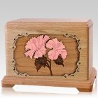 Hibiscus Oak Companion Urn For Two