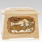 Lakeside Maple Aristocrat Cremation Urn