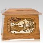 Lakeside Oak Aristocrat Cremation Urn