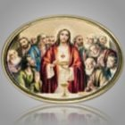 The Last Supper Medallion Applique