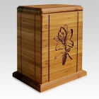 Lilia Bamboo Nature Cremation Urn