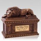 Lion Companion Cremation Urn