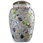 Love Mosaic Cremation Urn