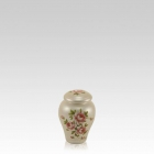 Love Roses Ceramic Keepsake Urn