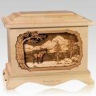 Moose Maple Cremation Urn