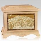 Mt McKinley Maple Cremation Urn