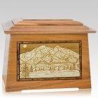 Mt McKinley Oak Aristocrat Cremation Urn