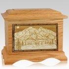 Mt McKinley Oak Cremation Urn