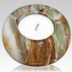 Onyx Candle Keepsake Urn