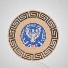 Fraternal Order of Eagles Roman Appliques