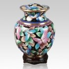 Palace Butterfly Cloisonne Urn