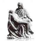 Pieta Large Marble Statues