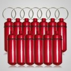 Red Pet Keepsake Discount Keychains