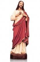 Sacred Heart of Jesus Large Fiberglass Statues
