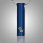 Sapphire Paws Keepsake Pendant